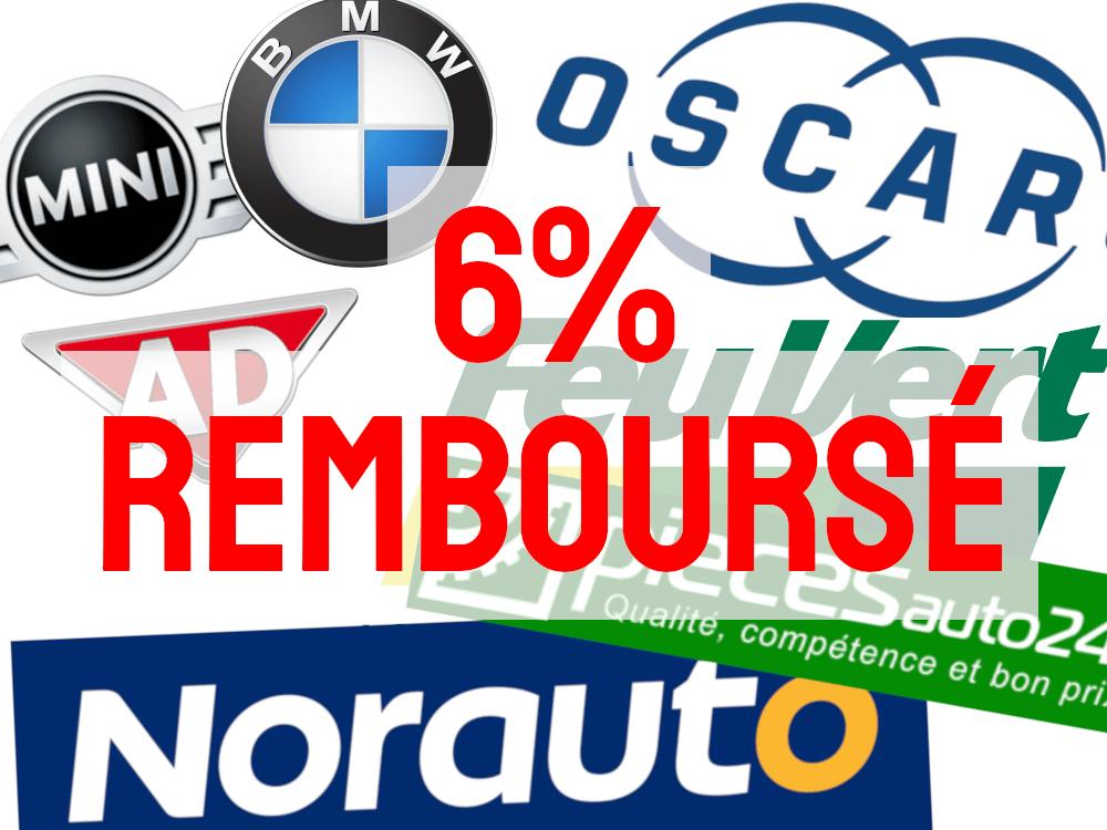-6% sur vos achats auto